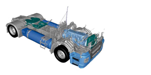IVECO Stralis NP SZM IN LOW TRACTOR AUSFÜHRUNG MIT DOPPELTEM LNG TANK