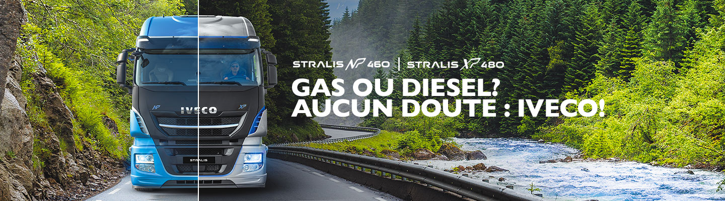 IVECO Stralis - Gas ou Diesel?