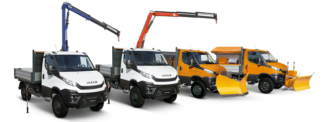 IVECO Daily 4x4 range >