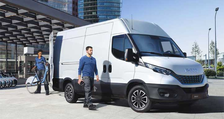 Electric RV - iveco daily electric
