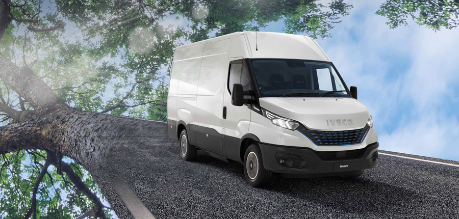 NEW IVECO DAILY CNG NATURAL POWER
