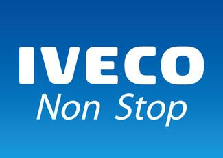 """IVECO&nbsp;<span style=""""color: #0d4ba0"""">NON STOP APP</span>"""