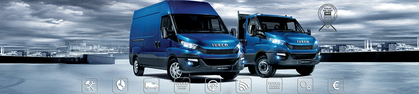 The Iveco Service area dedicated to aftersales