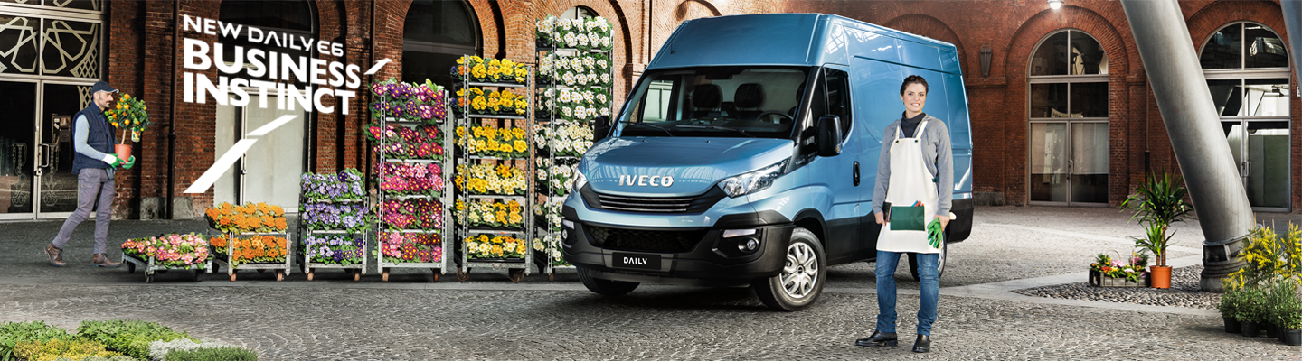 New Daily Euro 6 van