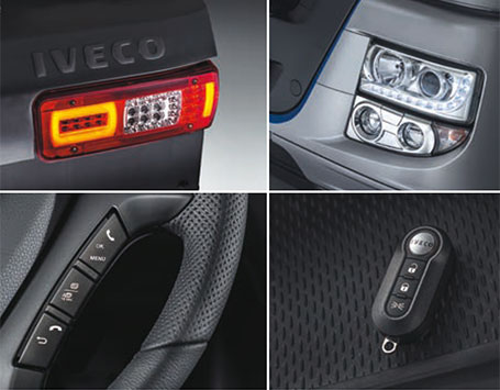 New car-like features - New truck STRALIS XP IVECO