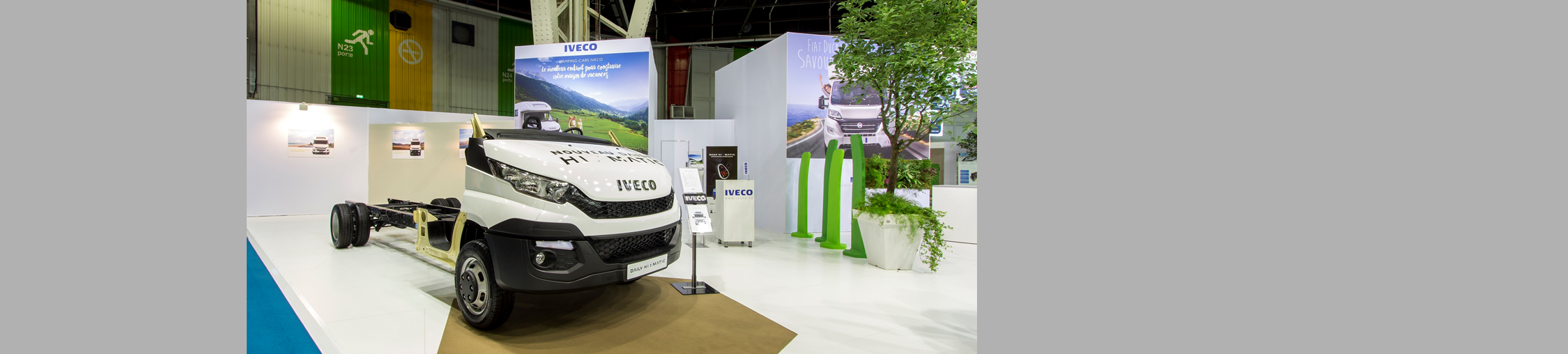 Iveco au Salon VDL à Paris - Le Bourget