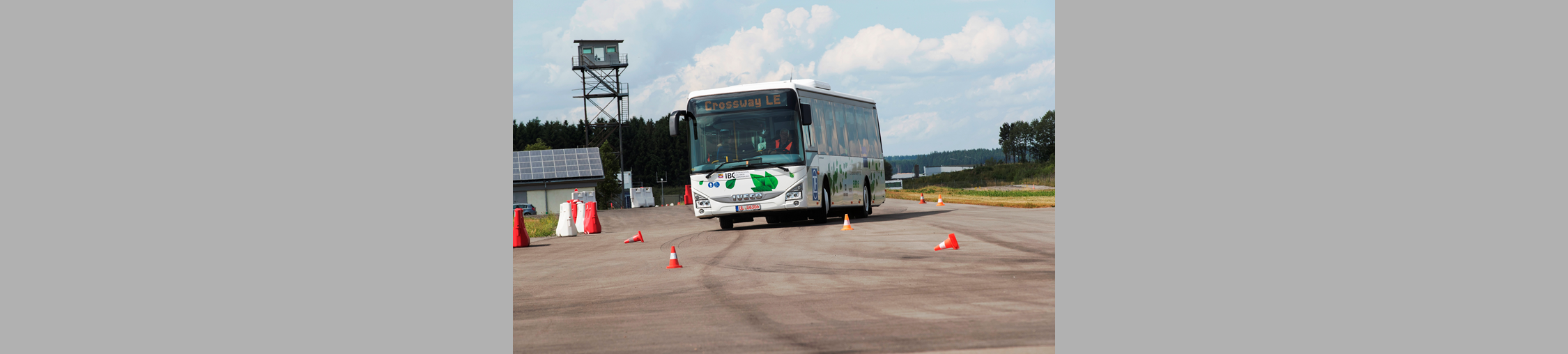 Le Crossway Low Entry d'IVECO BUS remporte le prix IBC, International Bus and Coach Competition