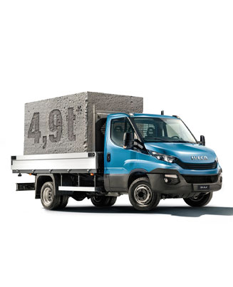IVECO Daily Stein frei