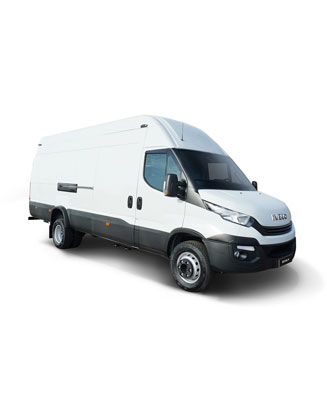 IVECO Daily weiss Stein frei