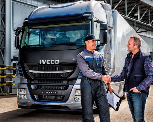 Iveco Wintercheck - Fit für den Winter