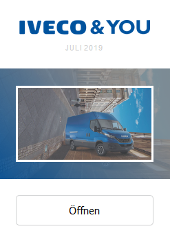 IVECO and YOU Juli 2019