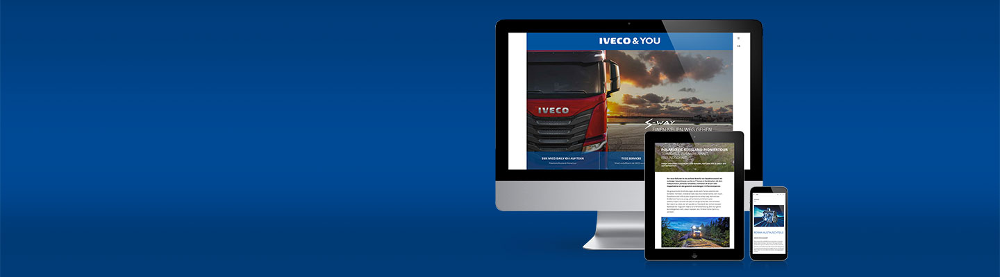 IVECO & YOU goes digial