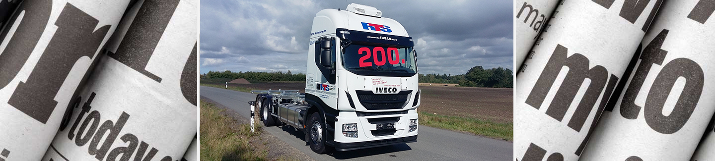 200 Iveco Stralis HiWAY für RTS Transport Service GmbH