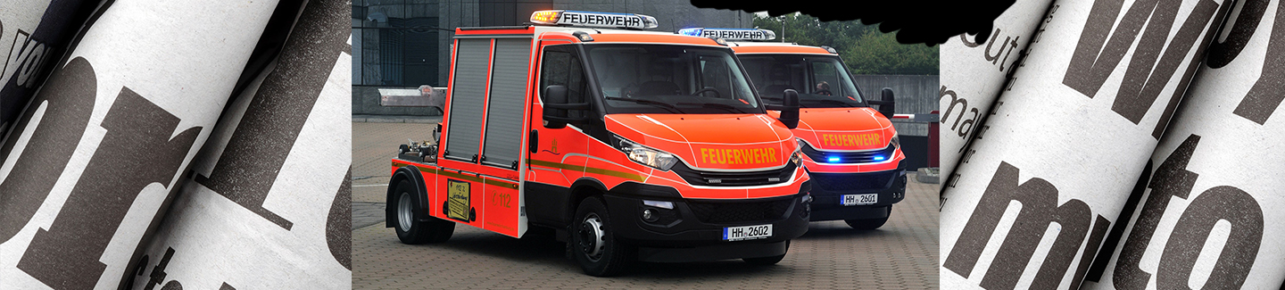 IVECO Daily mit starker Brille