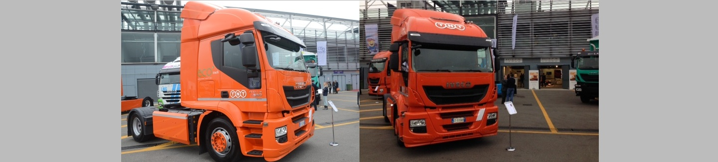 "Al Truck Emotion TNT e Iveco premiano l'""Eco-Supplier of the year"""