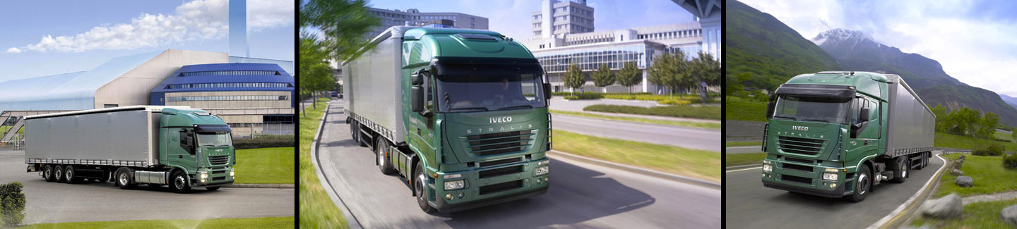 The choices for the ranges Iveco light, medium and bus