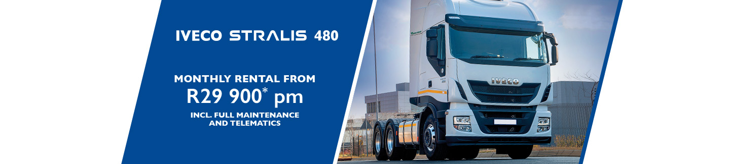 IVECO STRALIS 480 CAP YOUR COST