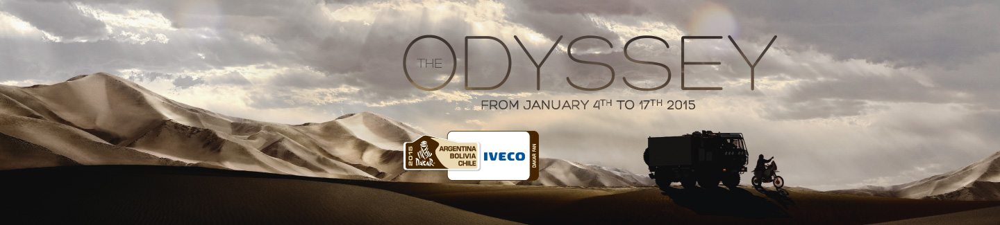 Dakar 2015: scarce visibility holds up Iveco Trucks in fifth stage