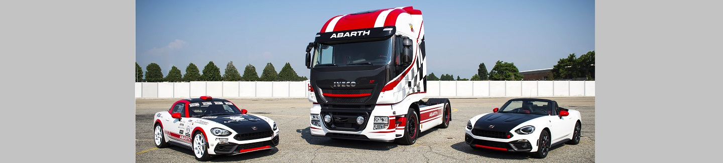 IVECO da soporte al legendario Team Abarth Scorpion