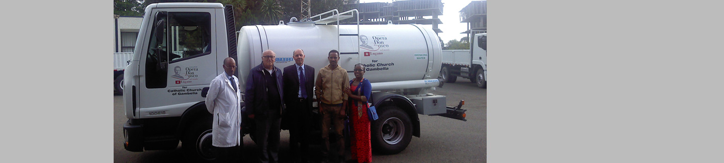 """Don Bosco nel Mondo"" Foundation in Ethiopia has chosen a Eurocargo truck"