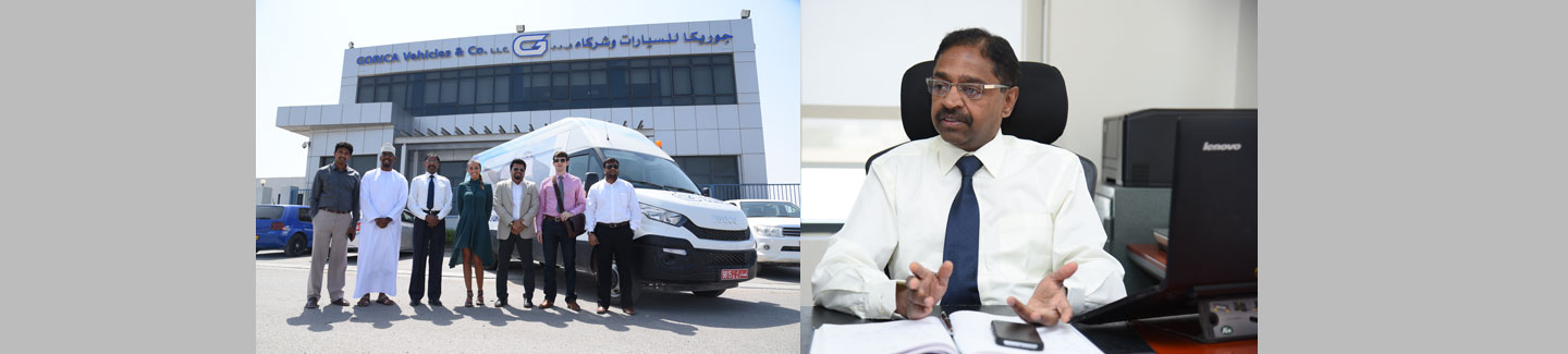 Oman with a van: Gorica's use of Iveco's New Daily