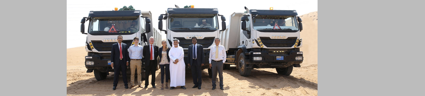 Iveco gets close to its customers in the UAE