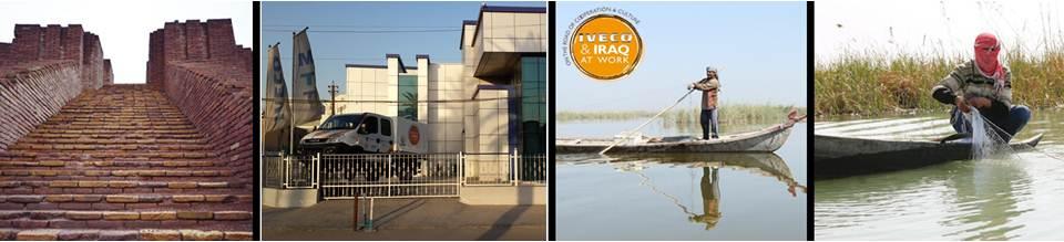 Iveco et l'Irak au travail