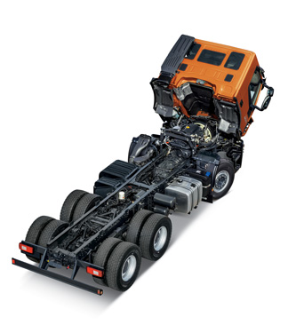 "STRALIS X-WAY PUTS <span style=""color: #dc5717;"">PROFITABILITY</span> IN YOUR LIGHT <span style=""color: #dc5717;"">OFF-ROAD MISSIONS</span>"