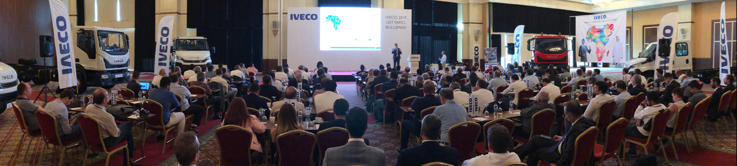IVECO holds body builder Convention in Turkey to share new business opportunities in the African and Middle Eastern markets