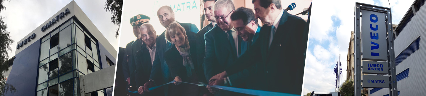IVECO and distributor OMATRA inaugurate a new workshop in Beirut