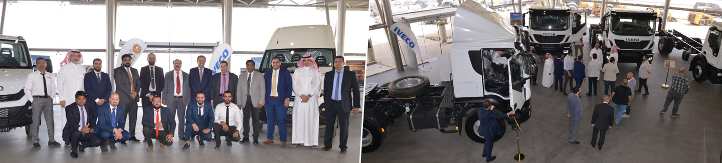 Arabian Auto Agency presents IVECO range
