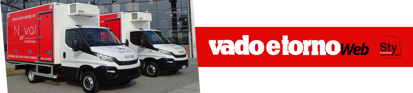 The delivery of two Electric Daily on VADO E TORNO monthly magazine