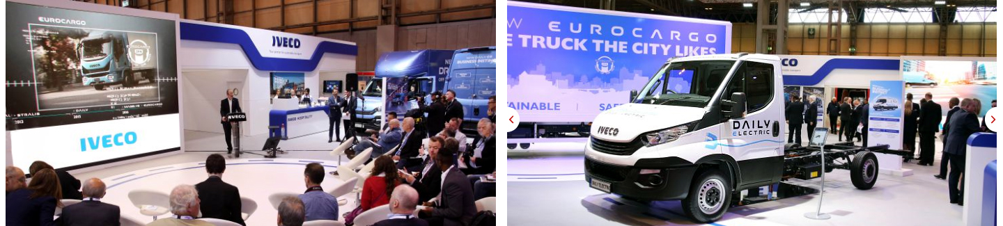 Iveco al Commercial Vehicles Show 2016