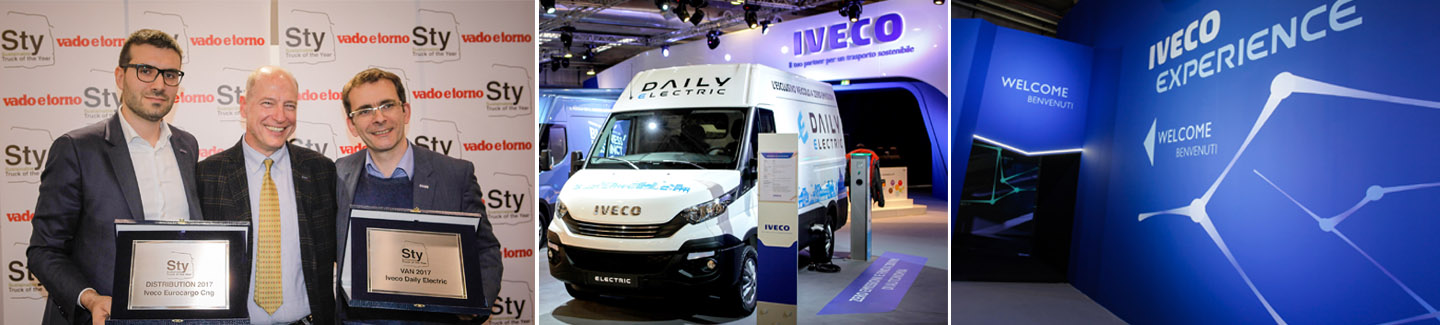 "Daily Electric VAN conquista il premio ""Sustainable Truck of the Year 2017"""