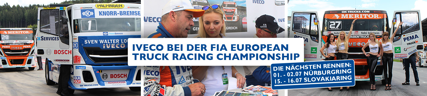 IVECO BEI DER FIA EUROPEAN TRUCK RACING CHAMPIONSHIP