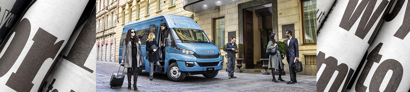 Der DAILY Tourys von IVECO BUS ist International Minibus of the Year 2017