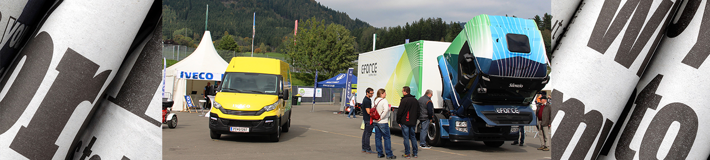 IVECO und E-Force am Red Bull Ring