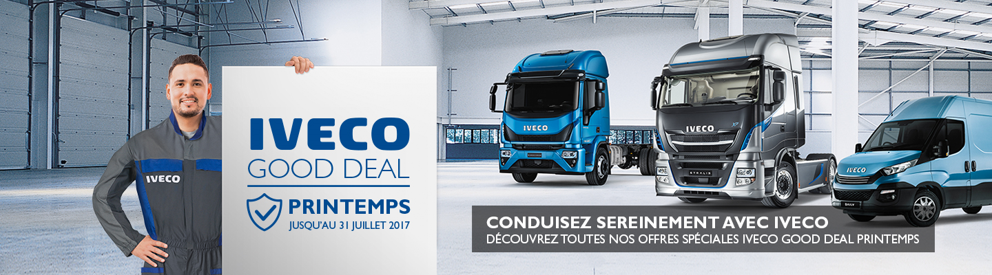 IVECO GOOD DEAL Printemps 2017
