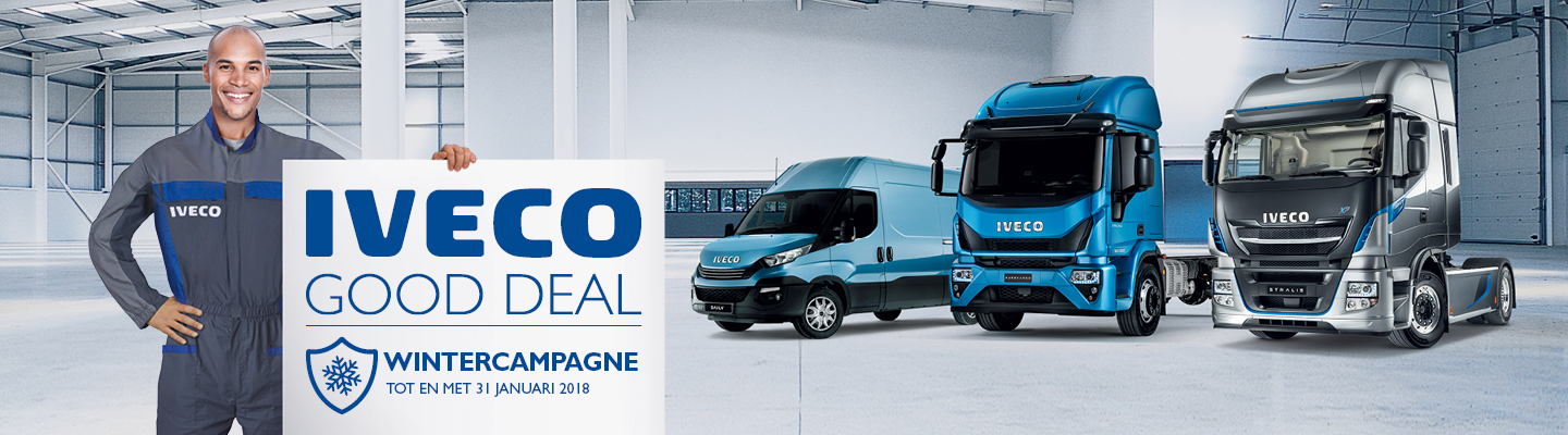 IVECO GOOD DEAL Wintercampagne 2017