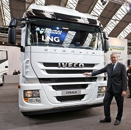 Iveco stelt in Amsterdam de Stralis LNG Natural Power voor