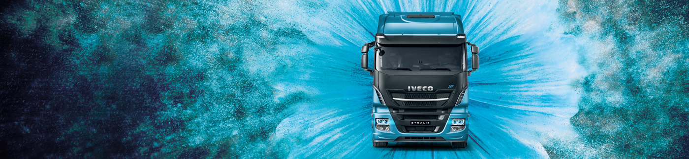 Stralis NP, the first gas truck designed for long haulage