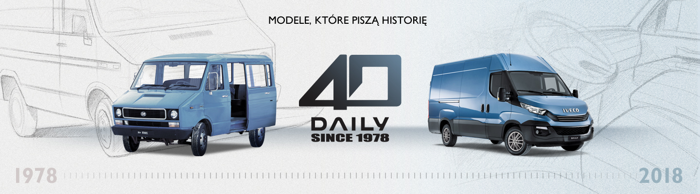 IVECO Daily - 40 lat