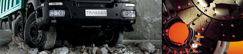 Nový Trakker - Brzdný systém