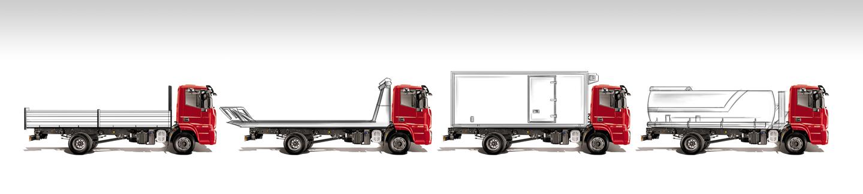 Výkresy vozidiel a technické listy EÚ