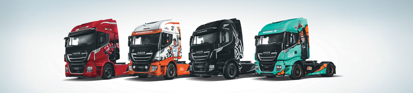 "NOUVEAU STRALIS ""EMOTIONAL TRUCKS"""
