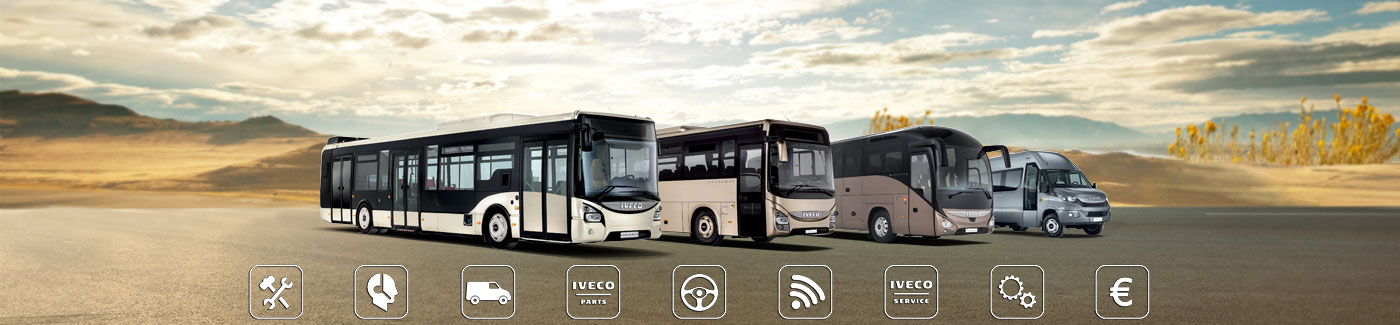 By choosing  IVECO BUS, you have chosen a top quality service for you and your business.