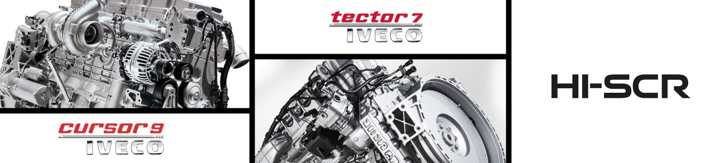 Technologie IVECO HI-SCR (High-efficiency Selective Catalytic Reduction)