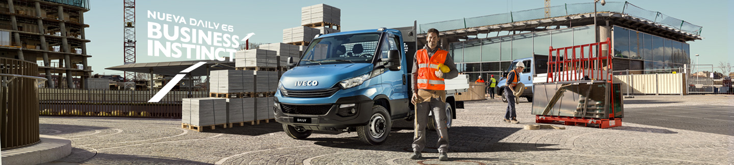 Chasis Cabina IVECO Daily E6