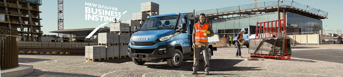New chassis cab Daily IVECO
