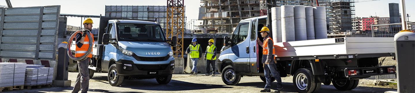 New chassis cab Daily IVECO - your professional partner